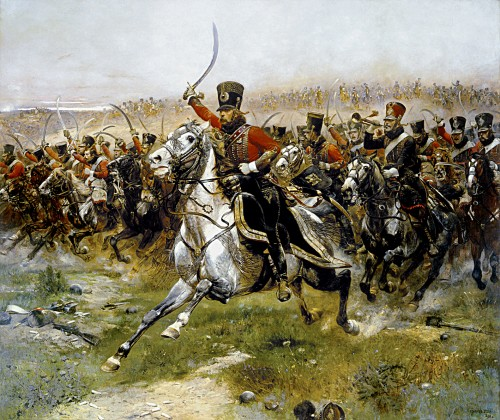 Detaille_4th_French_hussar_at_Friedland