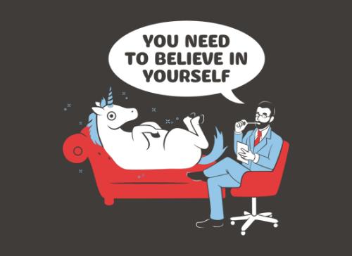 """""""Musisz uwierzyć w siebie"""" czyli horror pozytywnego myślenia"""
