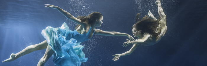 Underwater Dance Shoot